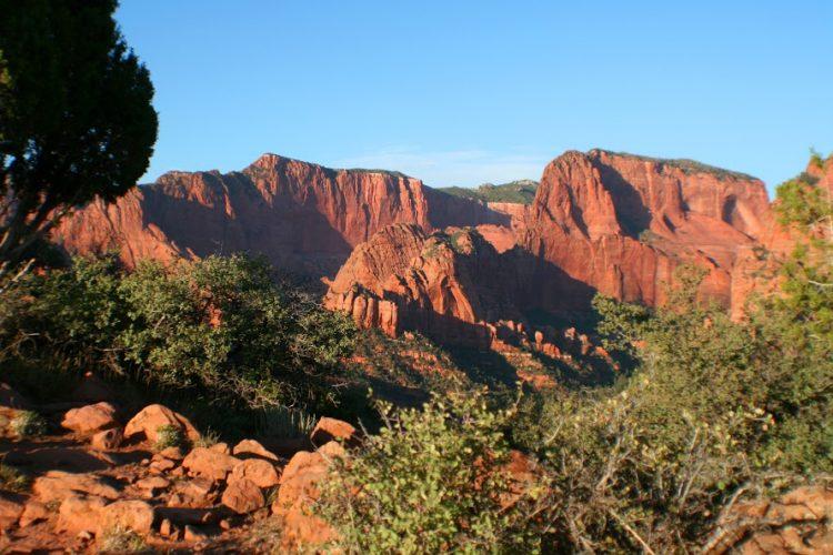 Kolob Canyons panorama