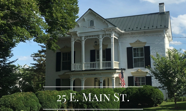 25 E. Main Street