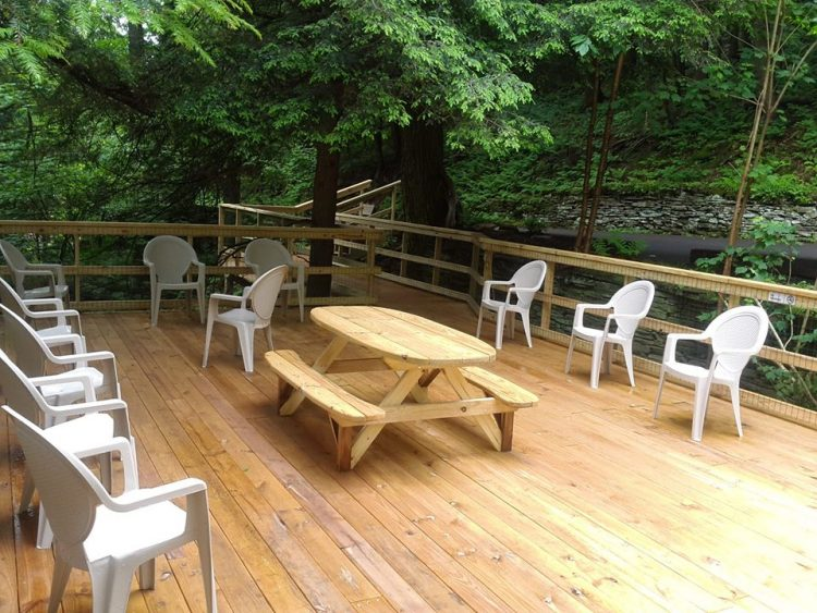 Coudersport Ice Mine Patio