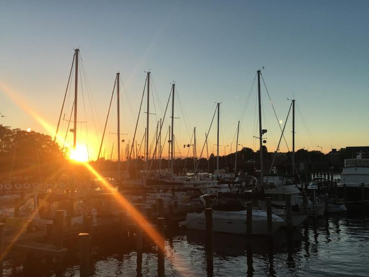 Sunset in Annapolis