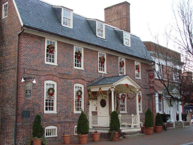 Reynolds Tavern, Annapolis holidays