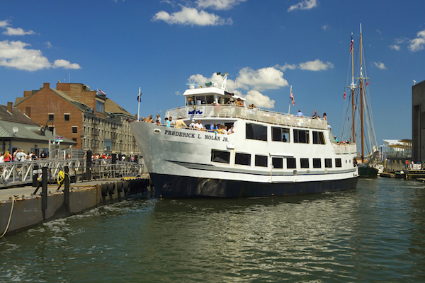 CityPASS: Boston Harbor Cruises — Nolan Docking