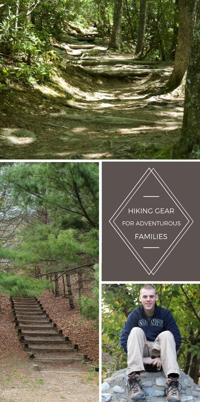 Hiking gear for adventurous families