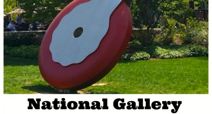 National Gallery Sculpture Garden: Hidden in plain sight