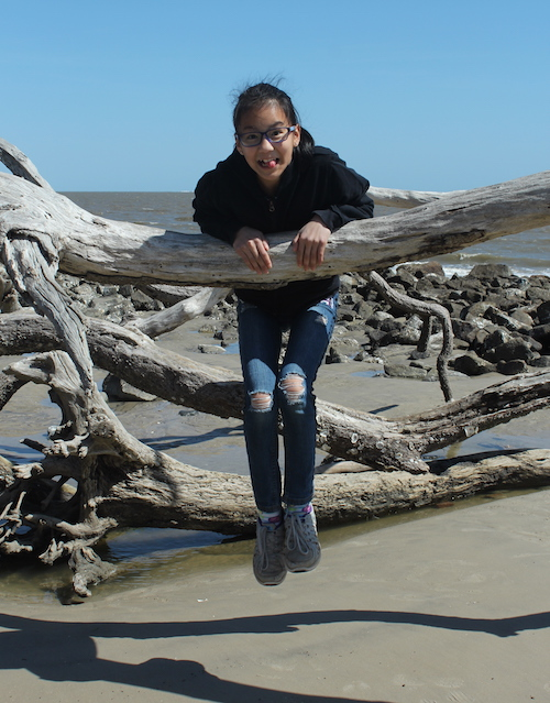 Driftwood Beach at Jekyll Island -- part playground, part photo-op. Unlike anyplace else on earth! Must see!