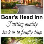 Boar's Head Inn -- a quality family resort