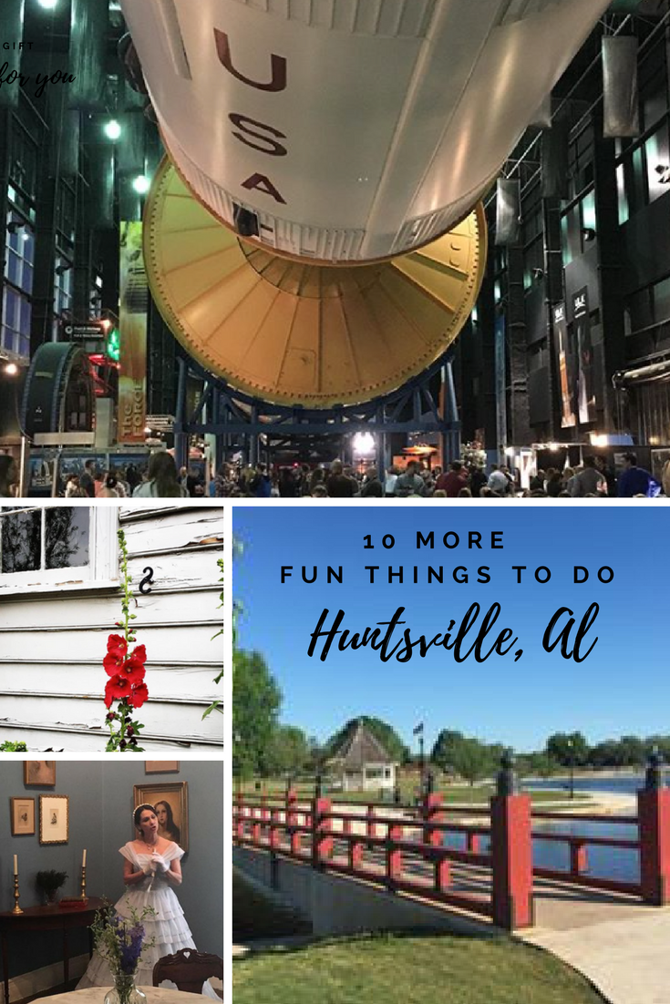 Huntsville, Alabama is an amazing family vacation destination. Whether you like outer space or the great outdoors, Huntsville has something for everyone. Great dining. Fabulous entertainment. Affordable fun! #huntsvillealabama #thinbgstodoinhuntsvillealabama #downtownhuntsvillealabama #huntsvillespacecenter #huntsvillespaceandrocketcenter #montesano #familyvacation #frugaltravel #budgettravel via @karendawkins