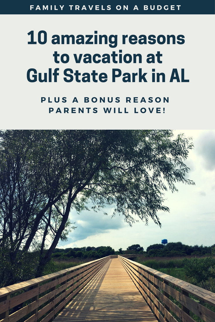 Gulf State Park in Gulf Shores, Alabama is an affordable beach vacation getaway perfect for families. Bring your camper or rent a cabin or cottage. Enjoy the many amenities at the State Park, including the Hugh S. Branyon Backcountry Trail, beach bike rentals, the fishing pier and the beach (of course)! There's even a pavilion at the beach making beach days more enjoyable. This is a budget travel best buy for families who enjoy beach vacations!
