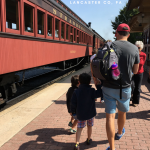 Take a trip back in time with Strasburg Railroad