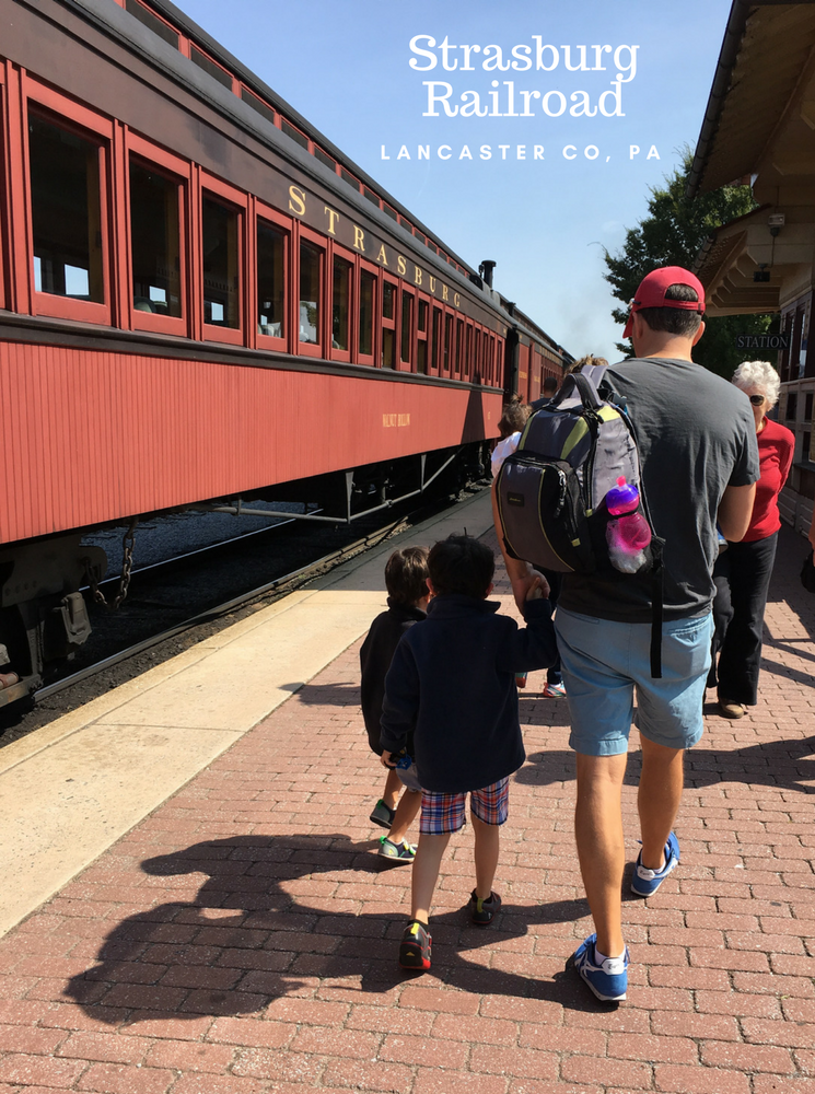 Strasburg Railroad in Lancaster County, PA takes families back in time to create special memories.