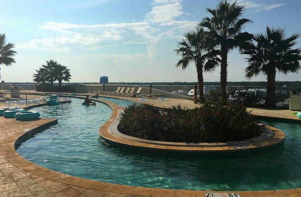 Rooftop Orange Beach condos with lazy river at Turquoise Place