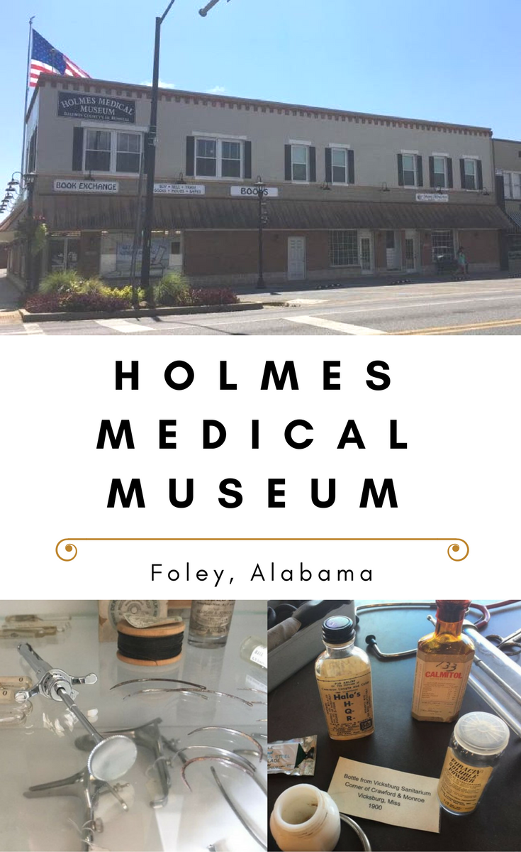Holmes Medical Museum review and visitor's guide