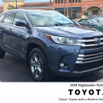 2018 Toyota Highlander Hybrid: Classic Toyota quality in a modern package