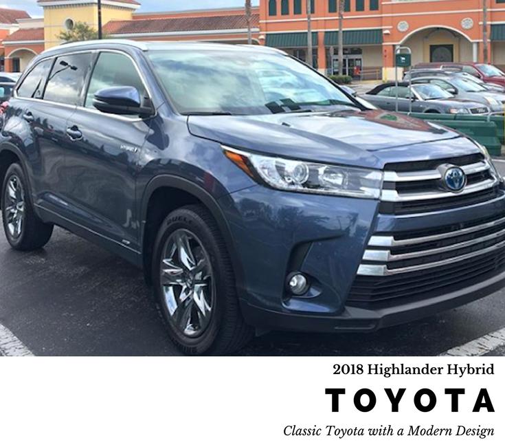 Hybrid Toyota Highlander: 2018 Toyota Highlander Hybrid: Classic Toyota Quality In A