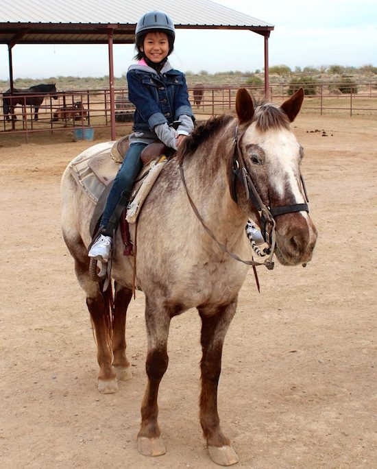 Horseback riding: For Ellie, that's the ultimate adventure vacation