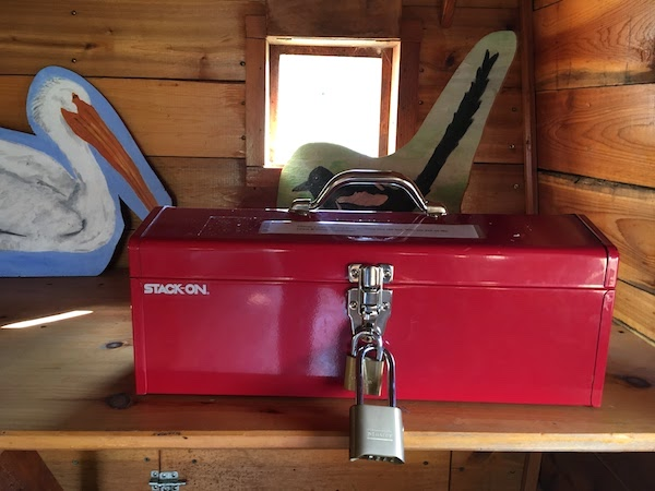 What's in the box on the Lewis & Clark keel boat? Solve the riddle to find out