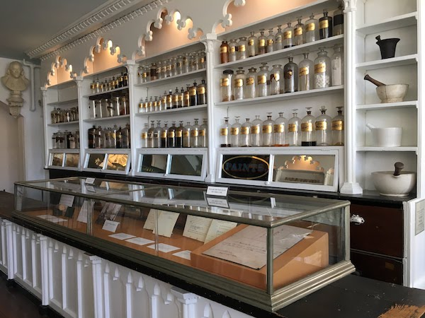 Stabler-Leadbeater Apothecary Museum in Alexandria Virginia