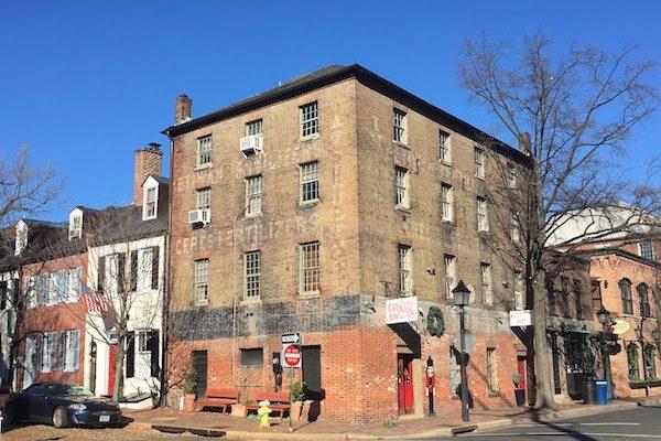 Historic Old Town in Alexandria VA