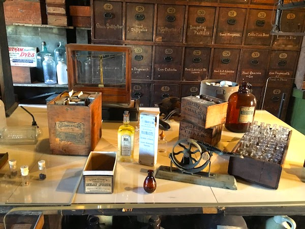 Harry Potter fans will love the dragon's blood at the apothecary in Alexandria VA