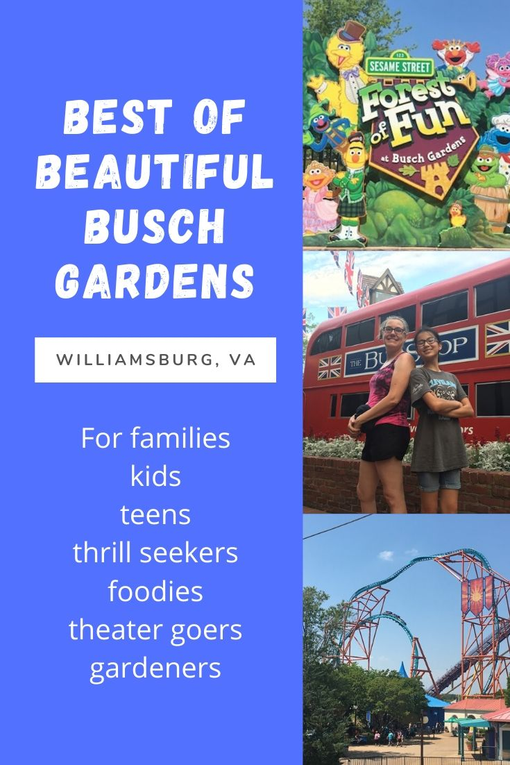 A complete guide to what you need to know to visit Busch Gardens, Virginia with ride reviews and tips. #buschgardens #buschgardenswilliamsburg #buschgardenswilliamsburgtips #buschgardenswilliamsburgkids #buschgardenswilliamsburgrides #buschgardensrollercoasters #buschgardenstips #buschgardensvirginia #thingstodoinwilliamsburgvirginia #williamsburgvirginiakids #themeparksintheus #themeparks #themeparksusa