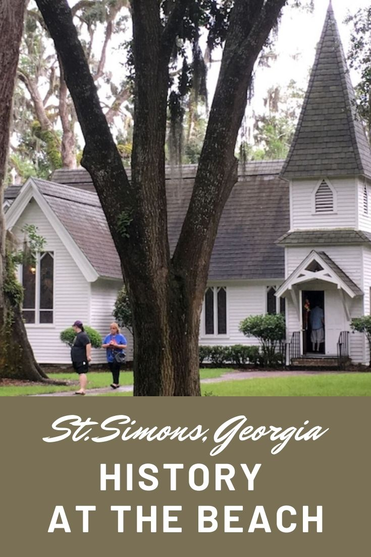 St. Simons Island, GA is more than a beach destination. History, great food, and LOADS of fun make this a great vacation spot for families or groups! #stsimonsisland #stsimonsislandgeorgia #goldenisles #christchurch #grouptravelideas #beachtravel  #beachtraveldestinations via @karendawkins