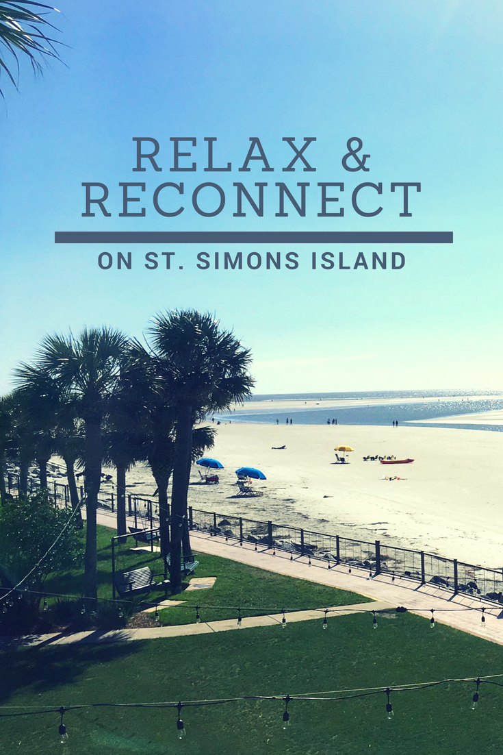 Relax and Reconnect on St. Simons Island