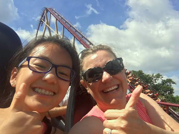 Best roller coaster at King's Island is Diamondback