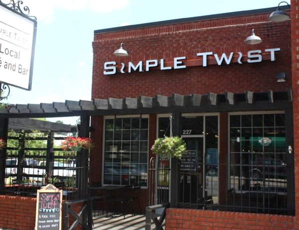 Eat local, eat fresh at Simple Twist and SoDoSoPa in historic downtown Smithfield, NC