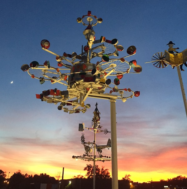 Whirligigs inspire the imagination in Wilson, NC