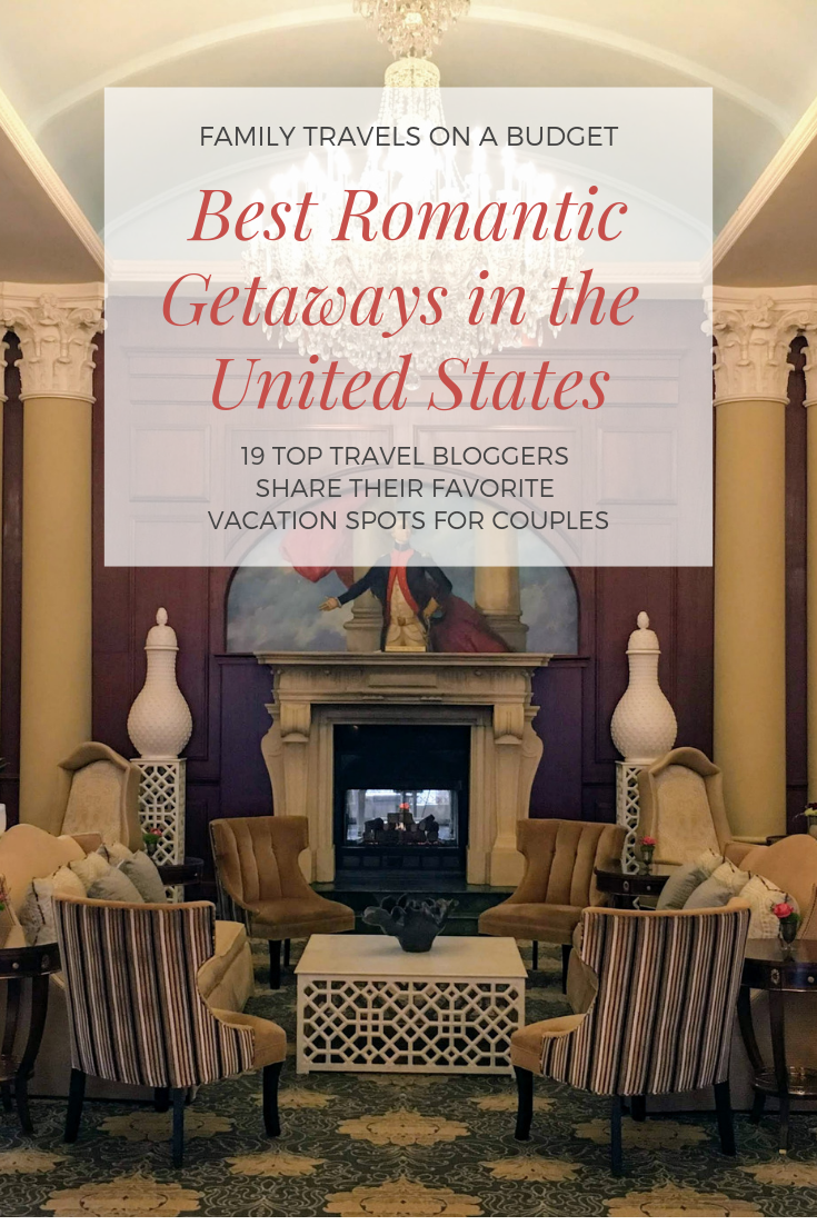 Amazing, romantic getaways in the United States -- from luxurious accommodations to gorgeous destinations, there's something on this list you're sure to love! #romanticgetaways #romanticgetawaysintheus #romanticgetawaysinusa #romanticdestinations #romanticdestinationsusa #romanticdestinationshoneymoon #honeymoondestinationsusa #besthoneymoondestinations #luxurytraveldestinations #valentinesday via @karendawkins