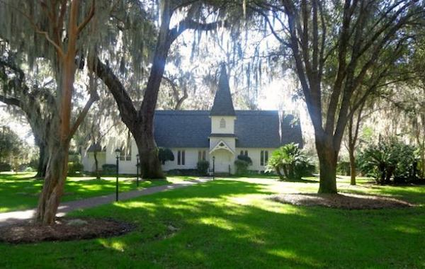 Christ Church on St. Simons Island is just one romantic spot to visit on a romantic weekend away