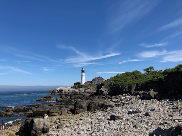 Portland, Maine offers stunning vistas for romantic escapes