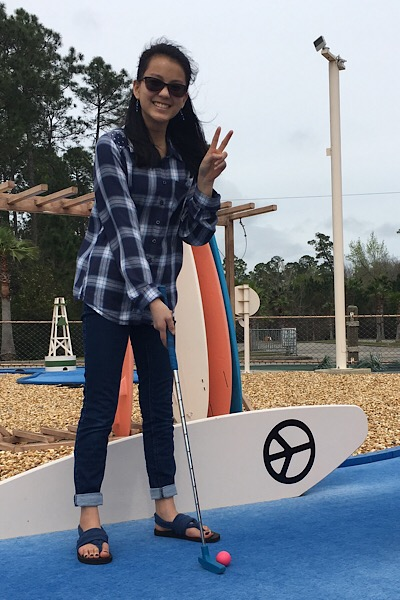 Great things to do for teens are hands on and fun, like putt putt