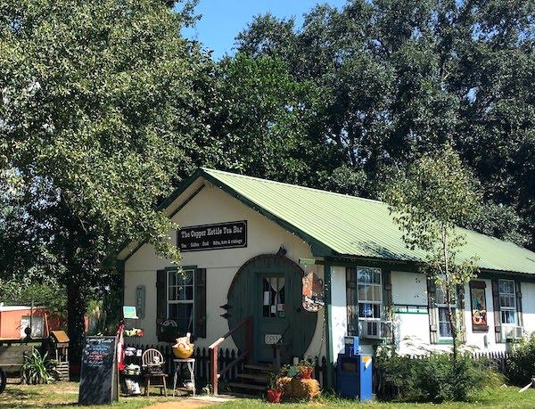 Near OWA Foley is the Copper Kettle Tea Bar downtown.