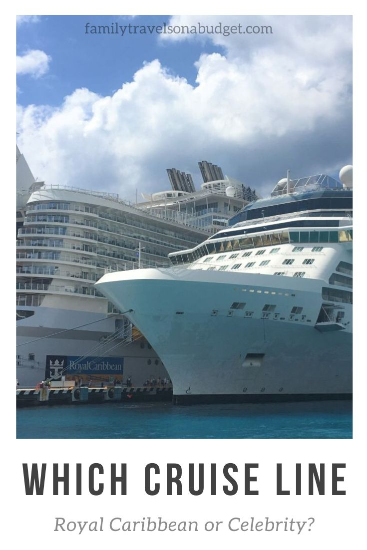 Comparing cruise lines: Royal Caribbean or Celebrity, which one is best? We compare both cruise lines from cabins, to activities, to onboard experience and food to help you decide which is best for you! #comparecruiselines #cruisetips #royalcaribbean #celebritycruiseline #Caribbeancruisetravel #cruisetravelships #celebritycruiseequinox #celebrityequinoxship #celebrityequinoxcruisetips #bestcruiseforfamilies #bestcruiselineforfamilies
