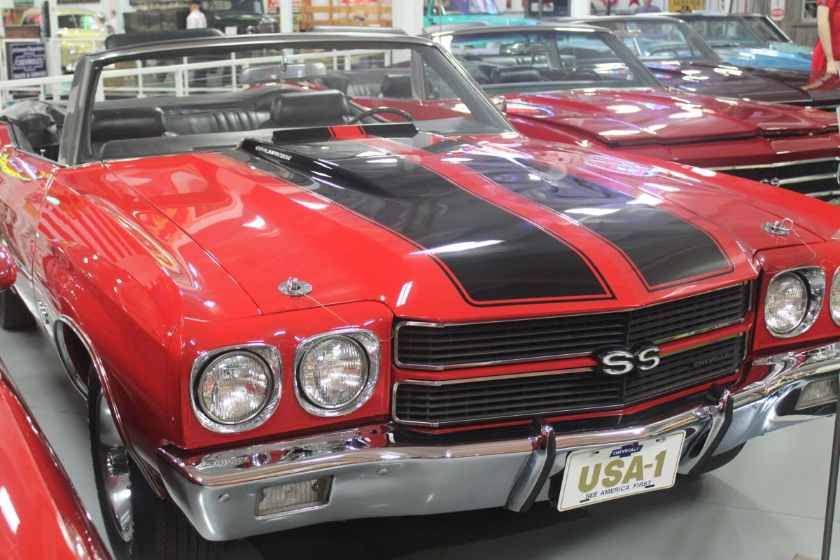 Red Chevyrolet Muscle Car