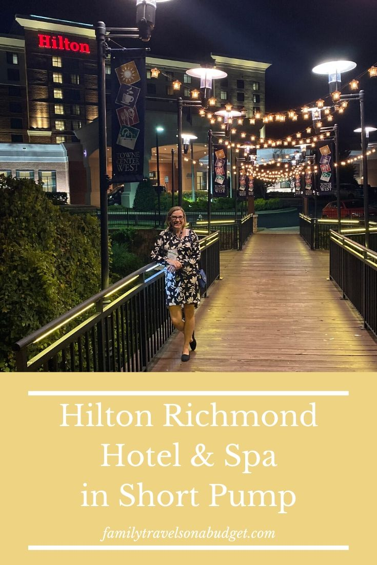 The Hilton Richmond, VA in Short Pump offers spacious rooms, luxury amenities, thoughtful design in a convenient location close to restaurants, shops and other attractions. Business travelers and families will appreciate the floor space to move around, many outlets to charge electronics and quiet rooms for a good night's sleep. An onsite restaurant, spa, pool and wifi add value. #hotelsrichmondva #hotelreview #visitrichmondva #RVA @visitrichmondva #hiltonhotels #hiltonhotelsunitedstates #hilton via @karendawkins