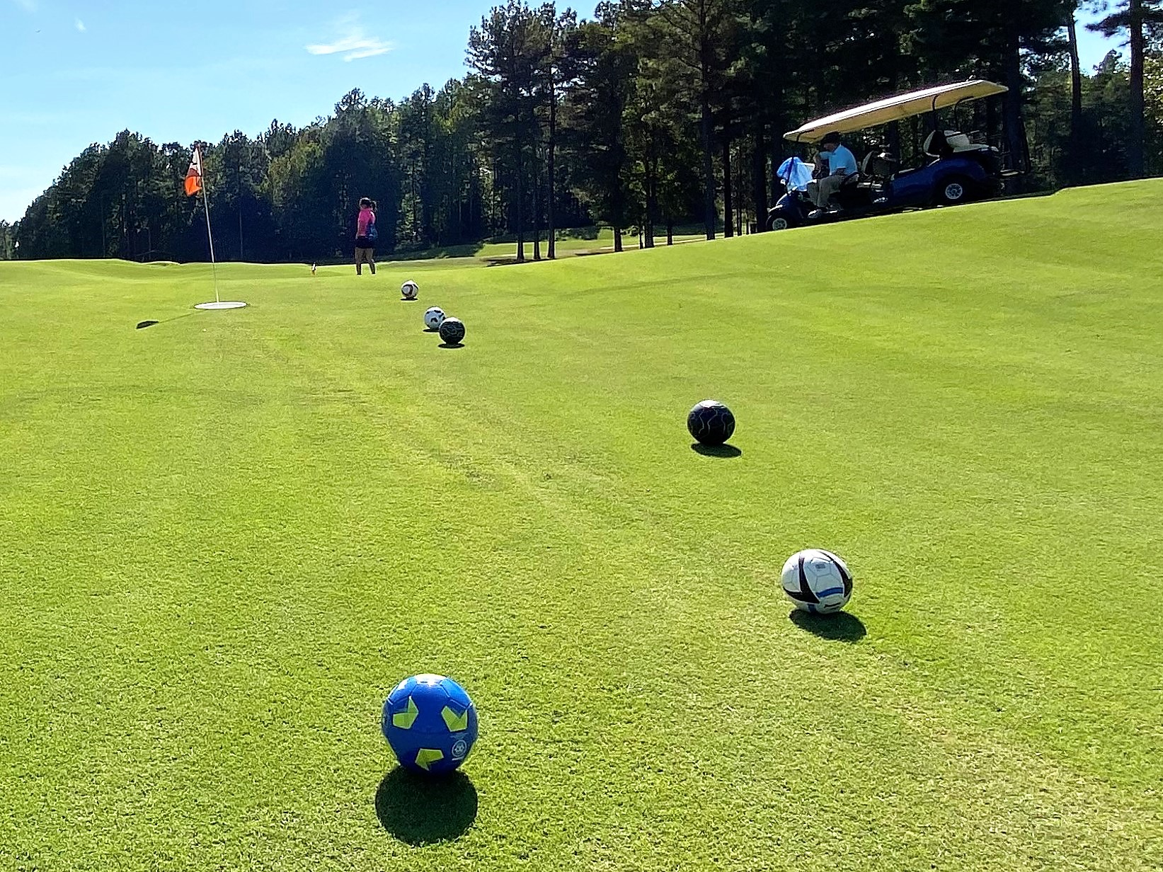 Foot Golf at Independence Golf Club in Midlothian VA