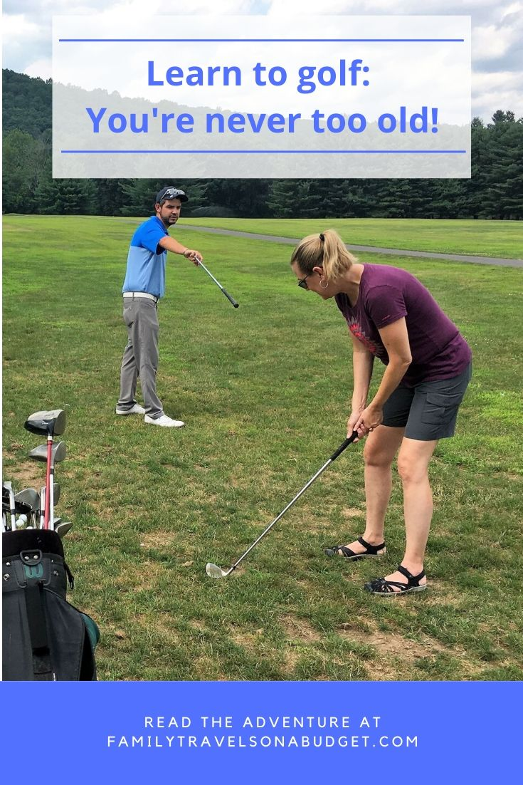 "You're never too old to learn something new, like golf! I hope my journey to the ""PGA"" inspires you to discover something new. After all, age is just a number! #golf #womengolf #learntogolf #midlife #over50 #50andfabulous #activemidlife #footgolf #learnnewskills"