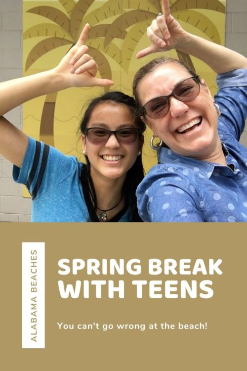 Want to connect with your teen? The beaches of Alabama's gulf coast can't be beat! Read on to learn why. #SpringAhead #springbreakdestinations #springbreakbeach #springbreaktips #springbreakfamilydestinations #springbreakteens #vacationswithteens #bestvacationswithteens #gulfshoresalabama #alabamabeaches #orangebeach via @karendawkins