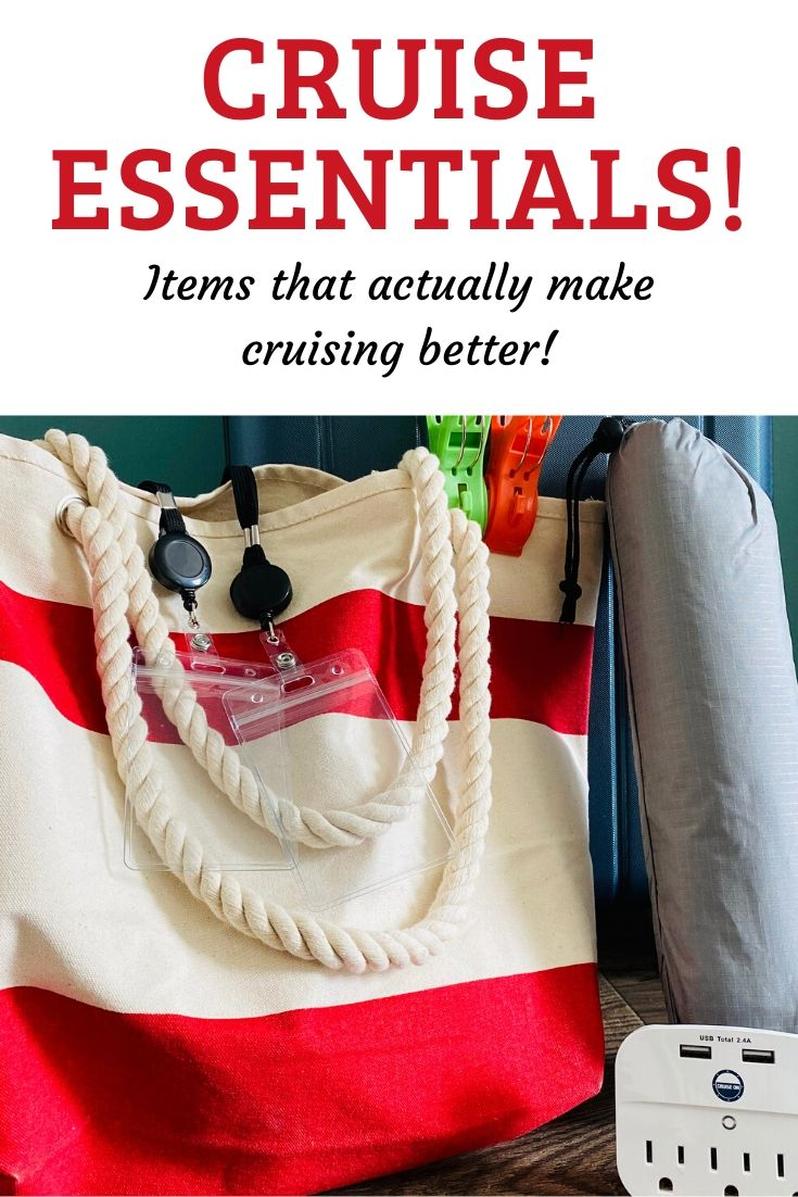 Packing for a Caribbean cruise? Check out our list of cruise essentials, the little extras that can make all the difference in your cruise experience. It includes convenient links to Amazon so you can shop in your PJs for anything you need! #cruiseessentials #cruiseessentialslist #cruiseessentialsamazon #cruiseessentialspackinglist #cruisetips #cruisepackingtips #cruiseextras #thingstopackforacruise #cruisetipsfirsttime #cruisetipspackinglist #cruisetipsandtricks