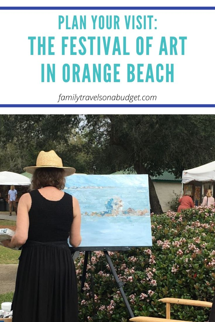 Looking for things to do in Orange Beach Alabama? How about the Festival of Art which happens every March? A great idea for spring break at the beach! #thingstodoinorangebeach #orangebeachalabama #artfestivals #artfestivalsideas #artfestival #artfestivalideas #musicandartfestivals #outdoorartfestivals #springbreak #springahead #beachvacation