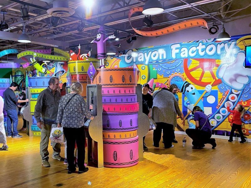 Crayola Experience the crayon museum in Easton, PA