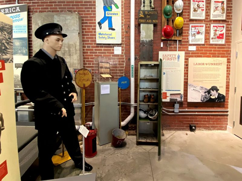NMIH exhibits tell the story of the industrial era in the USA.