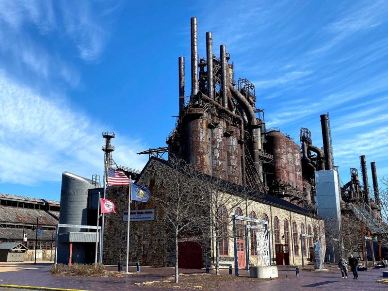 Steel Stacks of hsitoric Bethlehem, PA