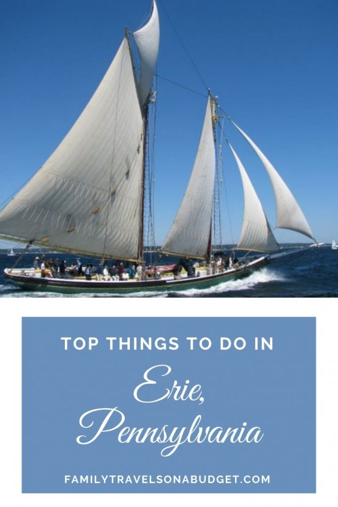 Tall ships of Erie, PA