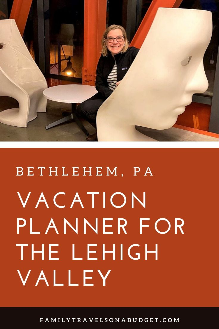 Planning a vacation with the kids? There are so many great reasons to choose the Lehigh Valley in Pennsylvania and Bethlehem, PA for your family getaway. Here are the best things to do in the Lehigh Valley based on our travel experiences. Enjoy the great outdoors. Learn about iron pigs and Bethlehem Steel. Learn about the world's fair and industrial revolution at the NMIH. Enjoy an outdoor concert. Discover the origins of the Moravian star and much, much more!  via @karendawkins