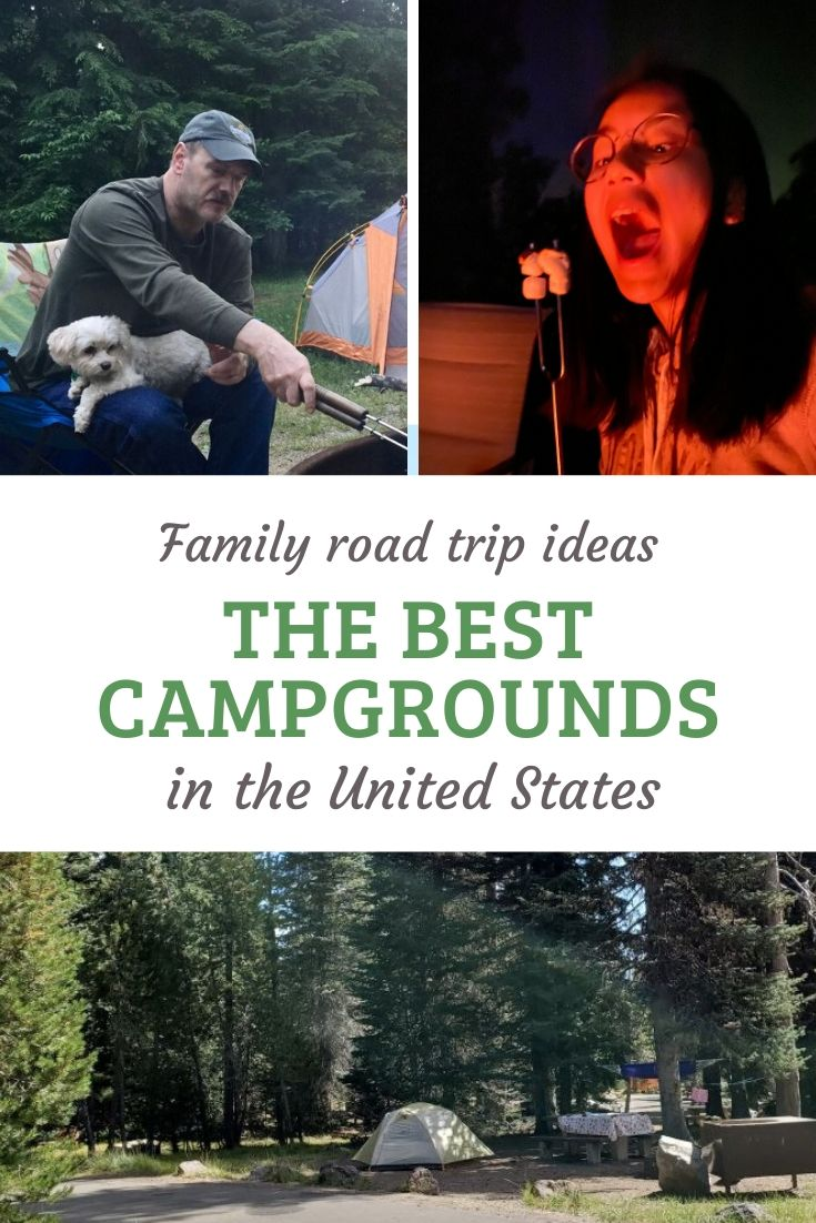 The Best Family Campgrounds in the USA -- state by state. Camping is a great family vacation idea, even if it's just a family getaway. This list has some of the best campgrounds across the state, so you can find one in easy driving distance. Explore the great outdoors, get away from the routine and enjoy simple summer fun with the family. via @karendawkins
