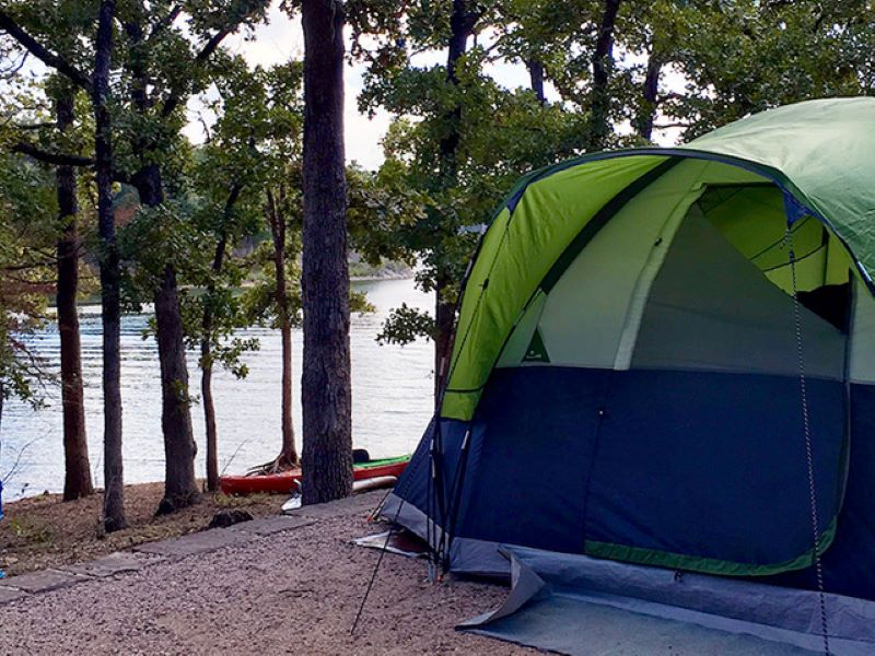Buckhorn Campground for weekend getaways with the kids, Photo Credit: Nicky Omohundro.