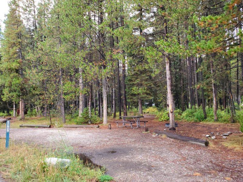 Colter Bay Campground at Grand Tetons, Photo Credit: John Tillison